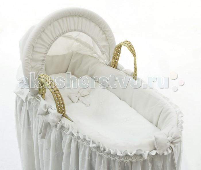 Детская мебель , Колыбели Fiorellino Корзина плетёная с капюшоном Premium Baby арт: 266586 -  Колыбели