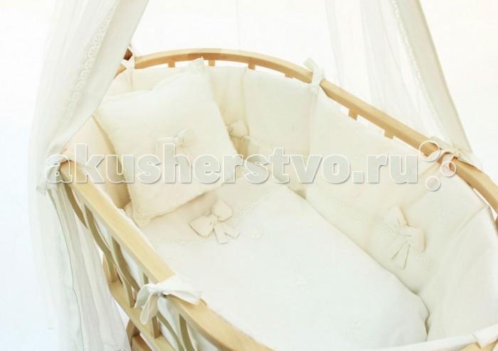 Комплект в колыбель Fiorellino Premium Baby для Berlin + матрасик