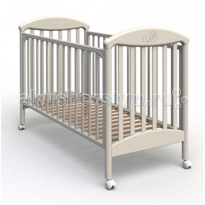 Детская кроватка Fiorellino PuPuДетская кроватка Fiorellino Pu производится из качественных и надёжных материалов, которые гарантируют практичность и долговечность использования. Каркас кроваток выполнен целиком из массива альпийского бука – он прекрасно подходит для детской мебели.  Особенности: удобная и современная детская кроватка;  материал: натуральный бук;  бортик можно опустить или полностью снять – кровать превращается в диванчик;  ложе регулируется по высоте: 3 позиции;  колёсики со стопором позволяют легко перемещать кроватку по комнате и фиксировать в выбранном месте;  нетоксичные лаки и краски.<br>