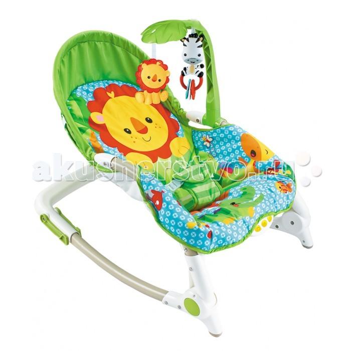 FitchBaby Кресло-качалка с игрушками и вибрацией Newborn-To-ToddlerКресло-качалка с игрушками и вибрацией Newborn-To-ToddlerFitchBaby Кресло-качалка с игрушками и вибрацией Newborn-To-Toddler  Кресло-шезлонг Fitch Baby Newborn-To-Toddler с блоком вибрации, музыкой и игрушками подойдет для использования с самых первых дней жизни!  Используйте это устройство только для непродолжительного сна младенца. Для длительного сна - переложите ребенка в детскую кровать.  Особенности: Две подвесные игрушки развлекут вашего малыша во время бодрствования. Трех-точечный удерживающий ремень позволяет закрепить ребенка в шезлонге безопасно. Фиксатор качалки позволяет использовать шезлонг как стульчик. Этот шезлонг очень легко сложить до компактного состояния - что бы его было легко переносить и удобно перевозить. Удобный и красочный шезлонг Fitch Baby станет прекрасным подарком на рождение ребенка! Максимальный вес ребенка для использования этого кресла-качалки: 18 кг. Материал сиденья можно стирать в машине с условием использования щадящих режимов. Для работы необходимы три пальчиковые батарейки AA (LR6) 1.5V которые не входят в комплект поставки.<br>