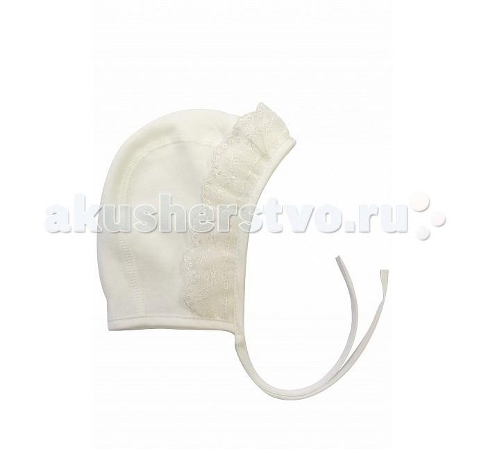 Шапочки и чепчики Fleole Чепчик для девочки с кружевом брюки fleole брюки