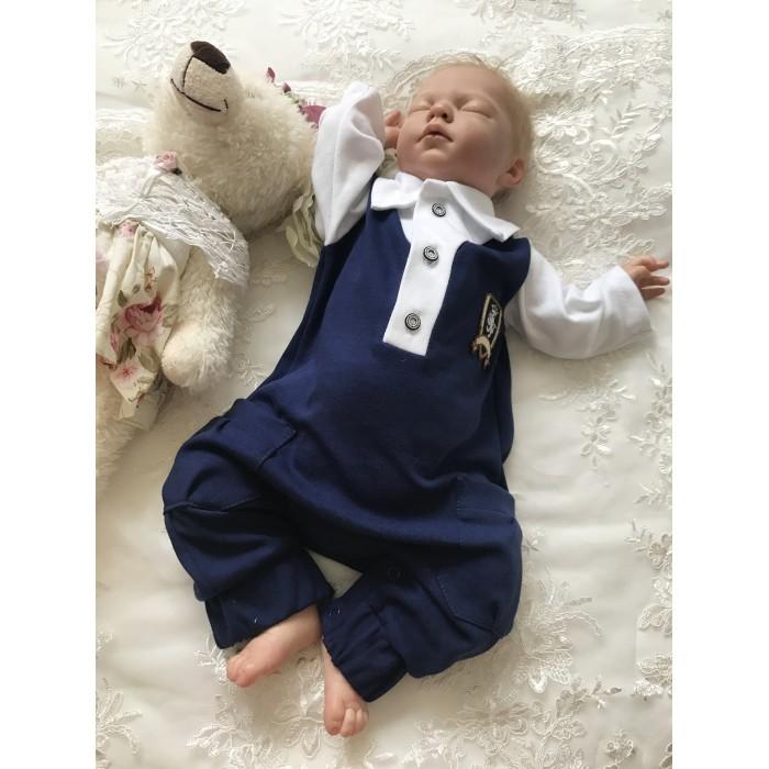 Детская одежда , Комбинезоны и полукомбинезоны Fleole Комбинезон с открытыми ножками для мальчика К07.30 арт: 450409 -  Комбинезоны и полукомбинезоны