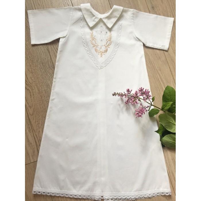 Детская одежда , Крестильная одежда Fleole Крестильная рубашка Мишель арт: 360434 -  Крестильная одежда