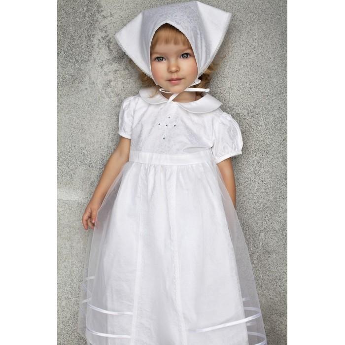 Детская одежда , Детские платья и сарафаны Fleole Крестильное платье Торжество арт: 361333 -  Детские платья и сарафаны