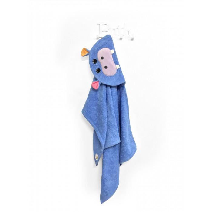 Купание малыша , Полотенца Fluffy Bunny Полотенце с капюшоном Бегемот арт: 530776 -  Полотенца