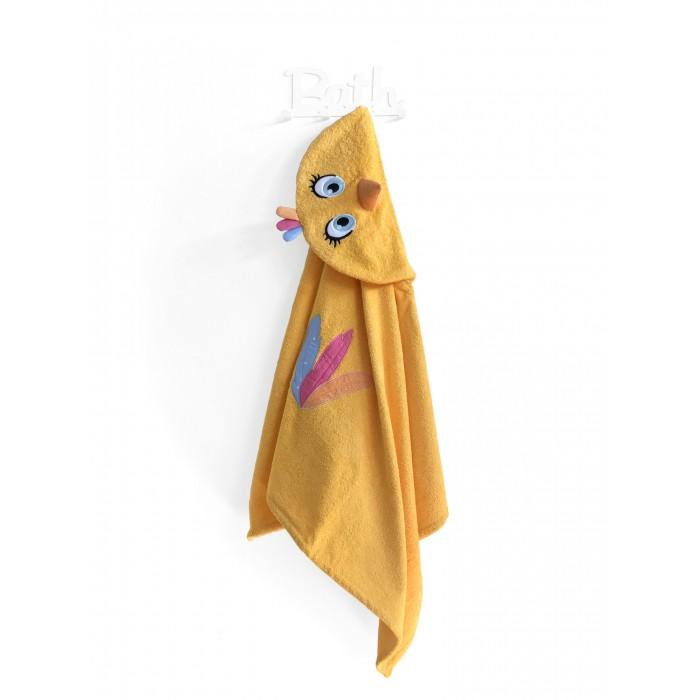 Купание малыша , Полотенца Fluffy Bunny Полотенце с капюшоном Цыпленок арт: 530791 -  Полотенца