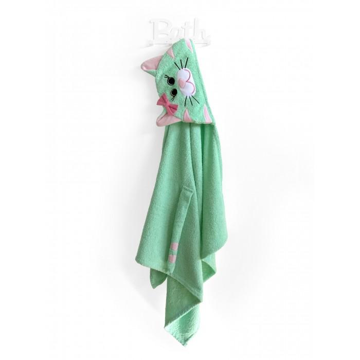 Купание малыша , Полотенца Fluffy Bunny Полотенце с капюшоном Кошка арт: 530726 -  Полотенца