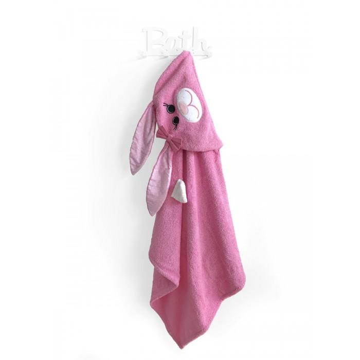 Купание малыша , Полотенца Fluffy Bunny Полотенце с капюшоном Заяц арт: 530716 -  Полотенца