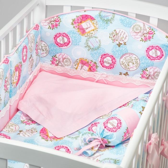 Купить Комплекты в кроватку, Комплект в кроватку Fluffymoon Amour (6 предметов)