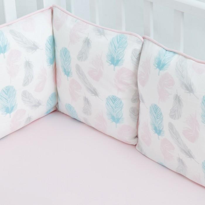 Купить Бортики в кроватку, Бортик в кроватку Fluffymoon Aurora 120x60 см