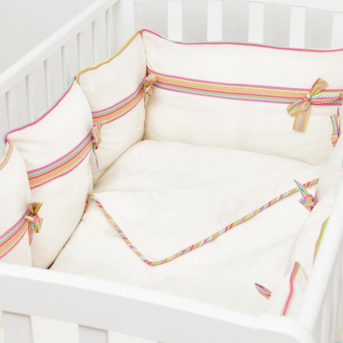 Купить Бортики в кроватку, Бортик в кроватку Fluffymoon Ethnic 120x60 см