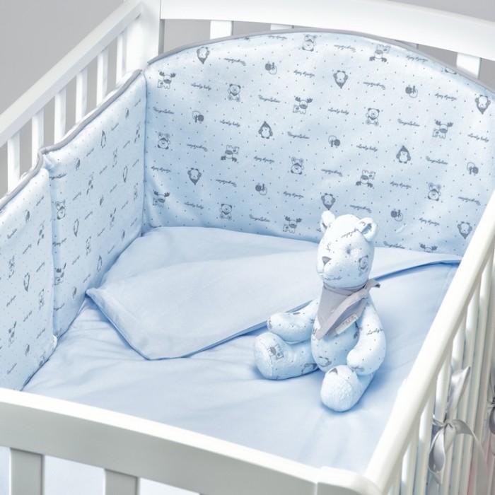 Картинка для Бортик в кроватку Fluffymoon  Lovely Baby 120х60 см