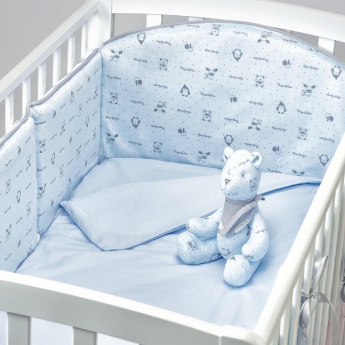 Комплект в кроватку Fluffymoon  Lovely Baby (4 предмета)