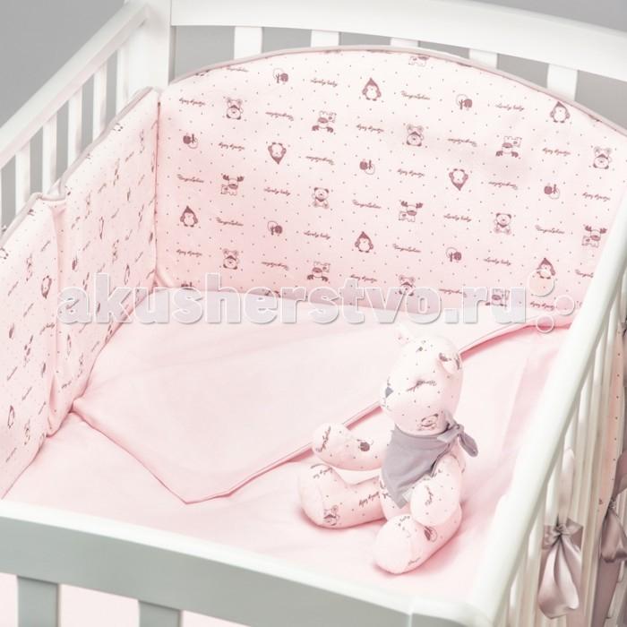 Купить Комплекты в кроватку, Комплект в кроватку Fluffymoon Lovely Baby (6 предметов)
