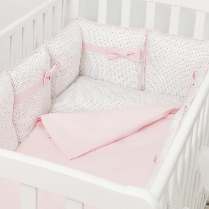 Купить Бортики в кроватку, Бортик в кроватку Fluffymoon Pearl 120х60 см