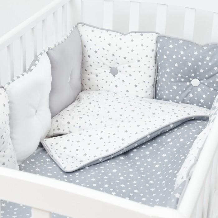 Купить Комплекты в кроватку, Комплект в кроватку Fluffymoon Star Mix (6 предметов)