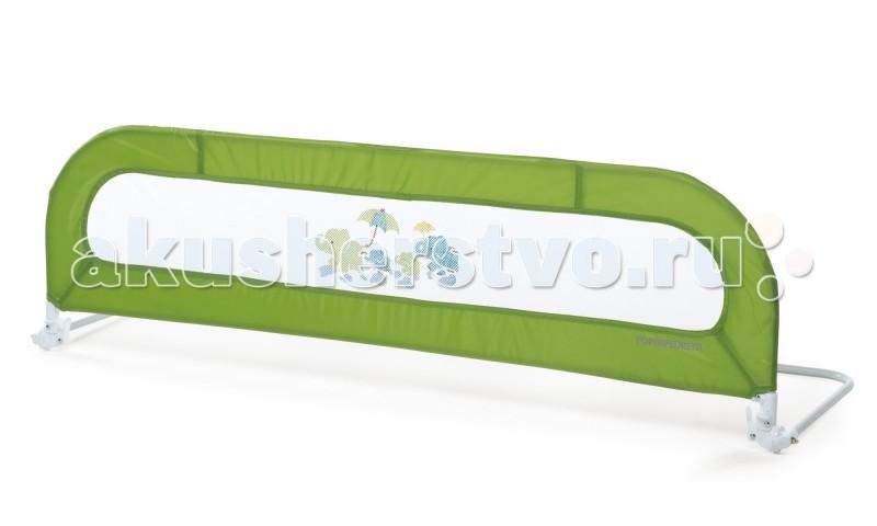 Foppapedretti Барьер Spondella 152 смБарьер Spondella 152 смБарьер для кровати Spondella Foppapedretti для кроваток, лишенных ограждения, откидной механизм.   Откидной механизм с двойным рычаговым приводом позволяет быстро и легко перезастилать кровать. Рама выполнена из металла. Предполагаемое использование с матрасом толщиной 18 см и шириной 80 см. Размер: длина 152, высота 47, ширина 48.5 см Размер в сложенном состоянии: длина 152, высота 4.5, ширина 48.5 см<br>