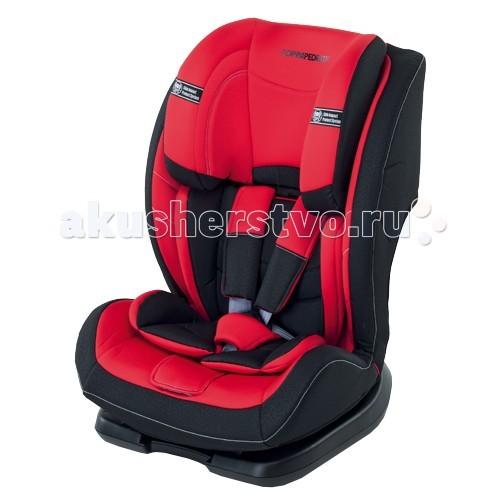 Автокресло Foppapedretti Re-klinoRe-klinoАвтокресло Re-klino 9-36 кг Foppapedretti - это надежное и качественное устройство, которое позаботится о безопасности малыша. Его можно использовать длительное время, трансформируя в соответствии с возрастными особенностями ребенка.  Особенности кресла: стильный европейский дизайн универсальность конструкции придает возможность трансформировать в соответствии с ростом ребенка каркас выполнен из ударопрочного пластика съемная обивка сделана из качественной и износостойкой ткани эффектной расцветки. Ее можно стирать при температуре не больше 40 градусов высокая посадка предусмотрены съемные пятиточечные ремни безопасности с возможностью регулировки высоты, натяжения. На них есть мягкие накладки в автомобиль устанавливается при помощи штатных ремней безопасности, продевая их согласно инструкции при помощи специального регулировочного рычага можно установить спинку в удобное положение. Всего предусмотрено 4 угла наклона высокие и мягкие бортики надежно защищают от ударов сбоку подголовник с трех сторон защищает голову от ударов. Его можно устанавливать в одно из 10 положений по высоте соответствует стандарту ECE R 44/04 размер кресла: 58х45х84 см<br>