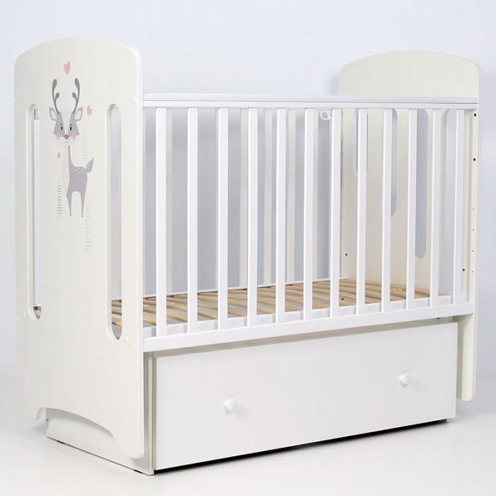 Детские кроватки Forest Cute Reindeer маятник поперечный