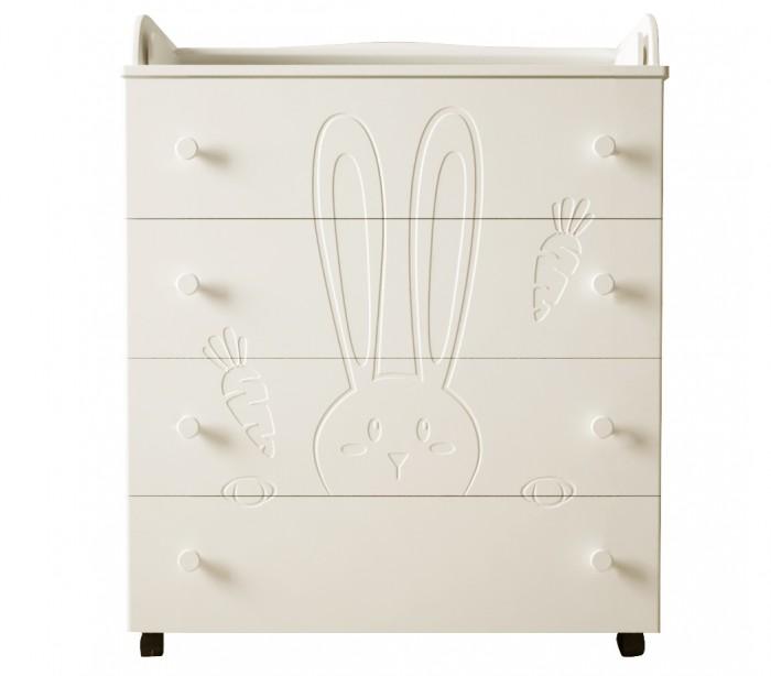 Детская мебель , Комоды Forest Little Rabbit пеленальный арт: 351900 -  Комоды