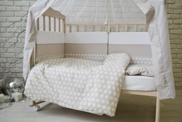 Постельные принадлежности , Комплекты в кроватку Forest Little Stars (4 предмета) арт: 353655 -  Комплекты в кроватку