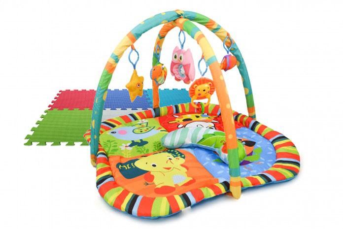 Купить Развивающие коврики, Развивающий коврик Forest Mimomgo и пазл Basic