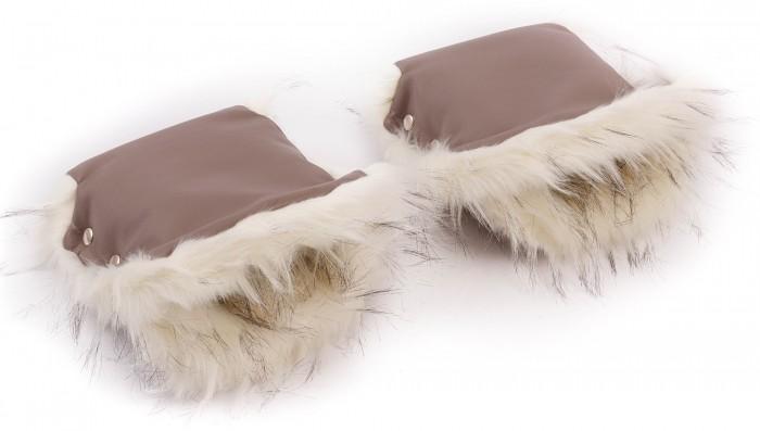 Детские коляски , Муфты для рук Forest Муфты-варежки Agneta Leather арт: 381234 -  Муфты для рук