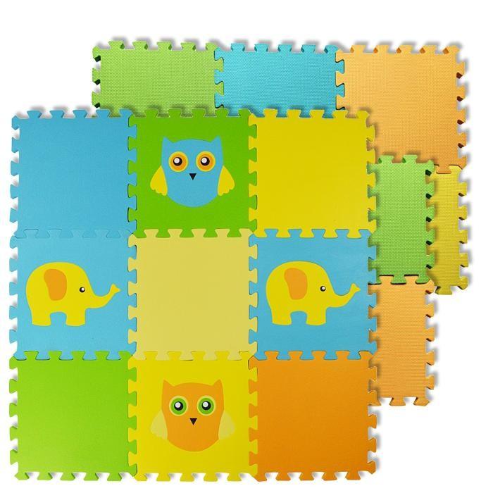 Игровые коврики Forest пазл Elephant and Owl и Basic