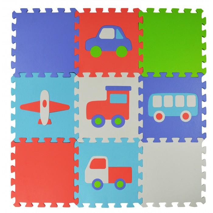 Игровой коврик Forest пазл Transport 9 деталей 30х30х1,5 см