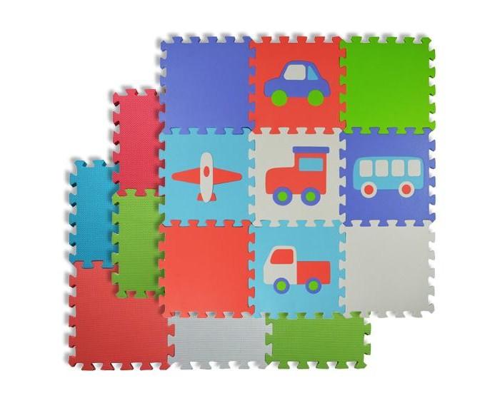 Игровой коврик Forest пазл Transport и Basic фото