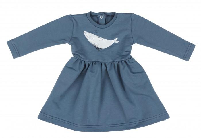 Forest kids Платье из футера Whales