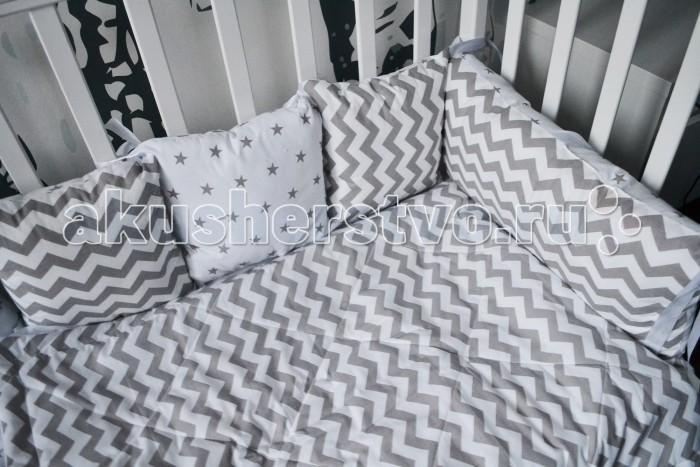 Постельные принадлежности , Бортики в кроватку Forest подушки Goody арт: 355450 -  Бортики в кроватку