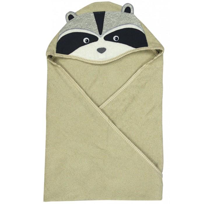Купание малыша , Полотенца Forest Полотенце с капюшоном Енотик 100х100 см арт: 538476 -  Полотенца