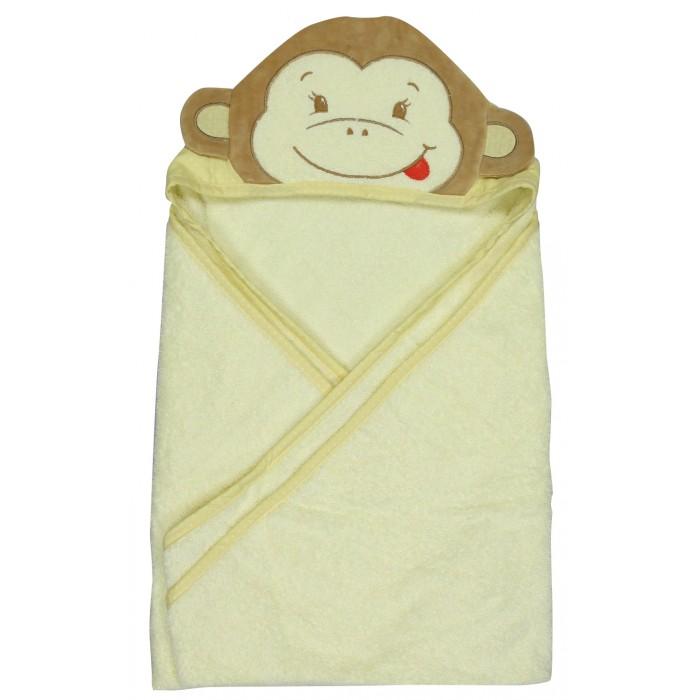 Купание малыша , Полотенца Forest Полотенце с капюшоном Обезьянка 100х100 см арт: 538526 -  Полотенца