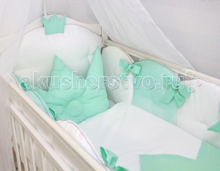 Комплект в кроватку Forest Принцесса (6 предметов)