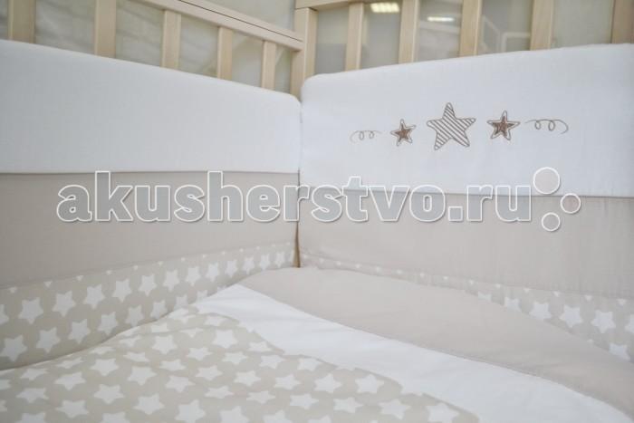 Постельные принадлежности , Бортики в кроватку Forest Little Stars арт: 310774 -  Бортики в кроватку