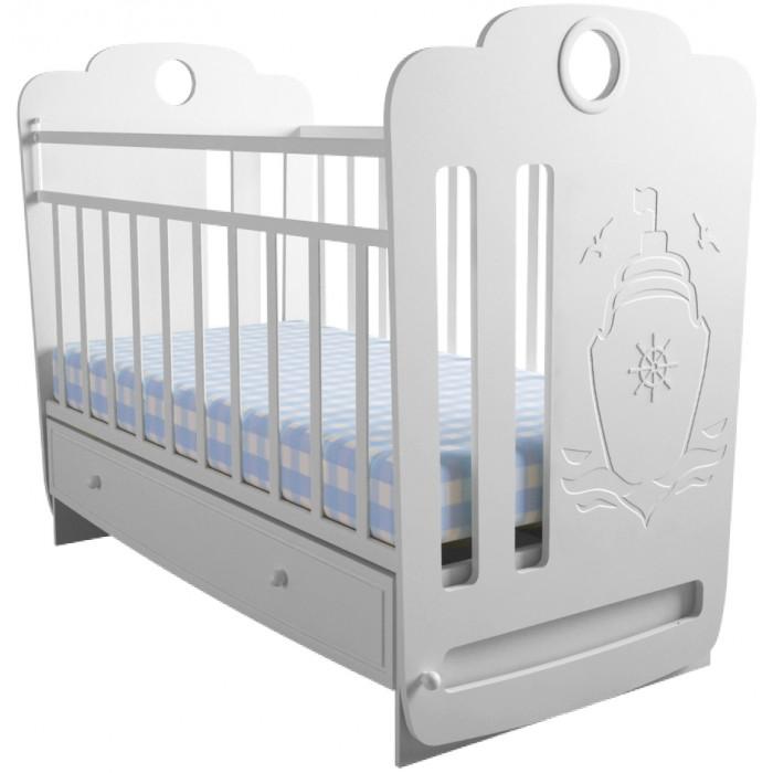Картинка для Детская кроватка Forest Морячок маятник поперечный