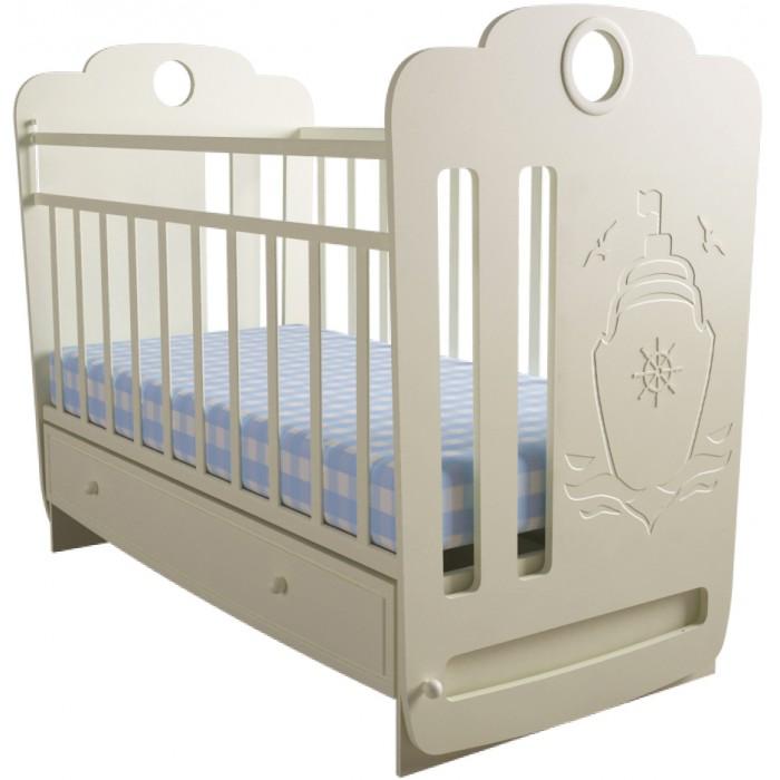 Детская кроватка Forest Морячок маятник поперечный