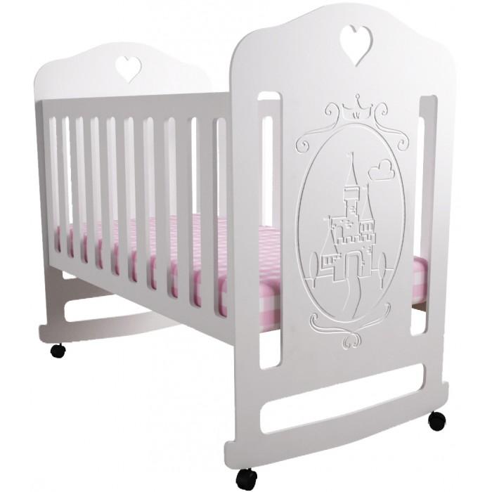 Детская кроватка Forest Принцесса качалка