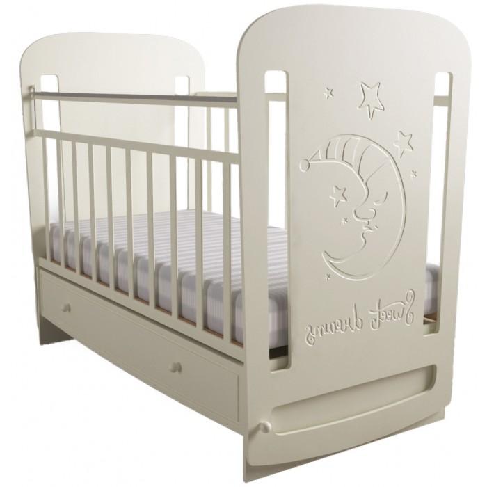 Детская кроватка Forest Sweet Dreams маятник поперечный