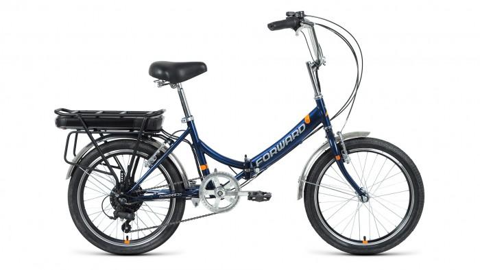 """Велосипед двухколесный Forward Dundee 20 250w рост 14"""" 2020-2021"""