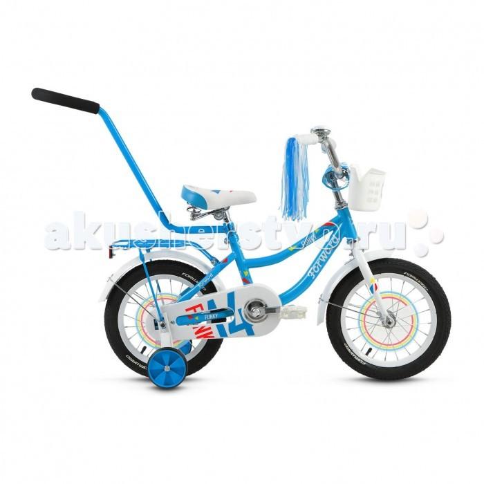 Детский транспорт , Двухколесные велосипеды Forward Funky 14 Girl (2017) арт: 455146 -  Двухколесные велосипеды