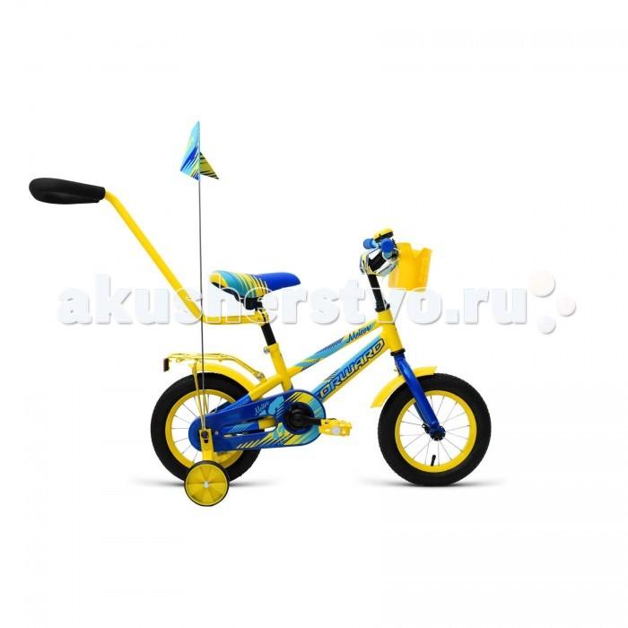 Детский транспорт , Двухколесные велосипеды Forward Meteor 12 (2018) арт: 455156 -  Двухколесные велосипеды