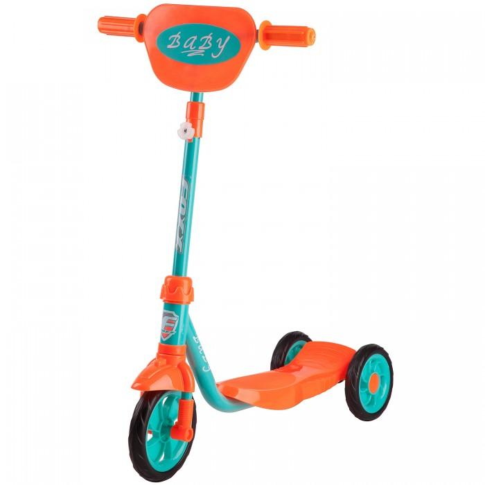 Трехколесные самокаты Foxx Foxx Baby с щитком на руле самокат micro с замком на руле white