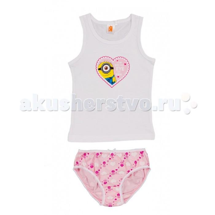 Детское белье Free Age Комплект Миньоны (майка, трусы) ZG 31075 free age free age комплект одежды для малыша кофточка и штанишки розовый