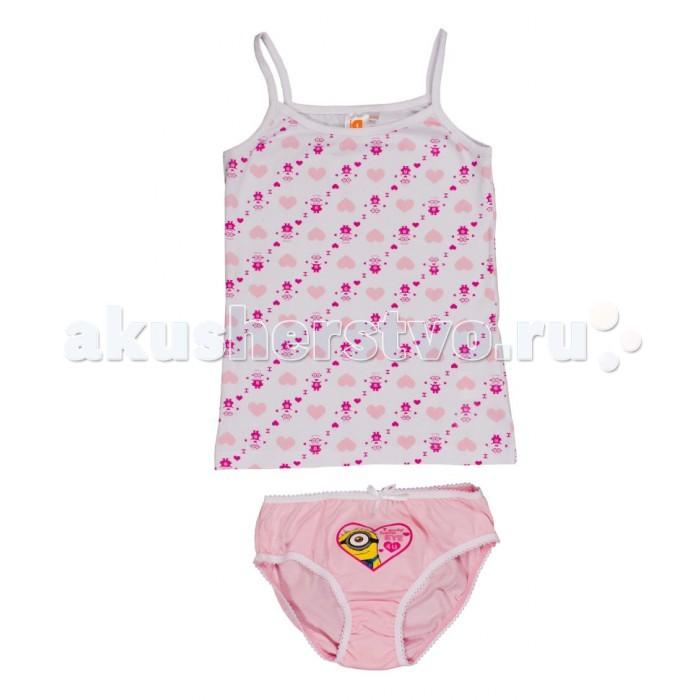 Детское белье Free Age Комплект Миньоны (майка, трусы) ZG 31078 free age free age комплект одежды для малыша кофточка и штанишки розовый