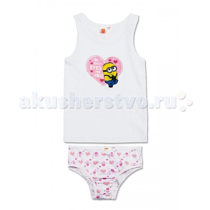 Детское белье Free Age Комплект Миньоны (майка, трусы) ZG 31074 free age free age комплект одежды для малыша кофточка и штанишки розовый