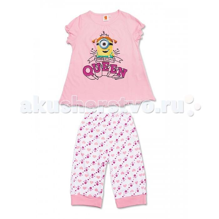 Детская одежда , Пижамы и ночные сорочки Free Age Пижама Миньоны ZG 22120 арт: 368268 -  Пижамы и ночные сорочки