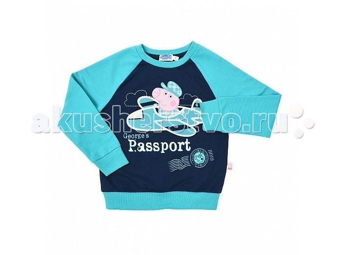 Детская одежда , Джемперы, свитера, пуловеры Free Age Джемпер Свинка Пеппа ZB 09199-GB1 арт: 284080 -  Джемперы, свитера, пуловеры