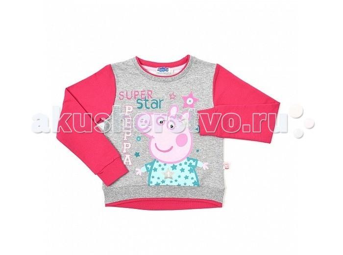Детская одежда , Джемперы, свитера, пуловеры Free Age Джемпер Свинка Пеппа ZG 09292-MF1 арт: 284461 -  Джемперы, свитера, пуловеры